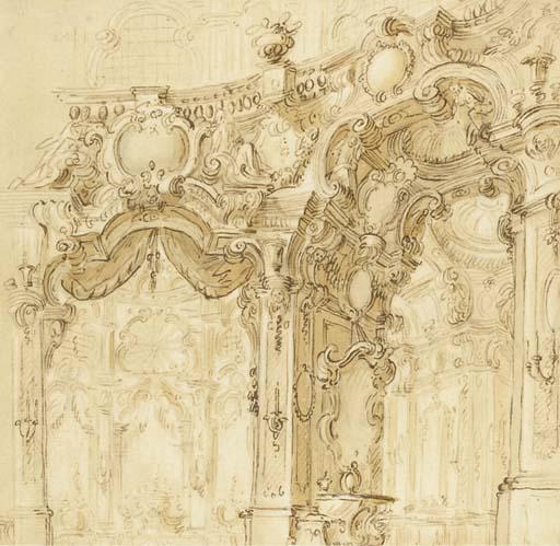 Attribué à Giuseppe Galli Bibiena (1696-1756)