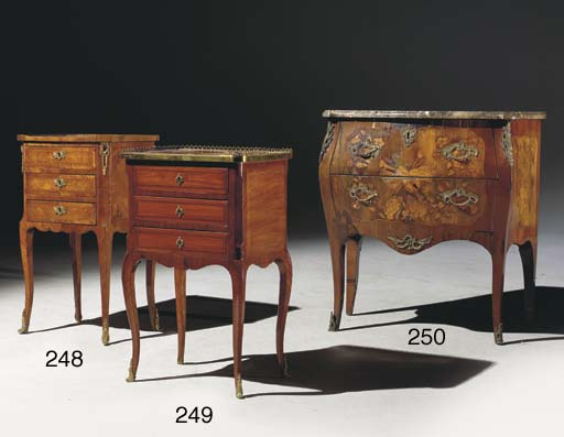 TABLE EN CHIFFONIERE D'EPOQUE