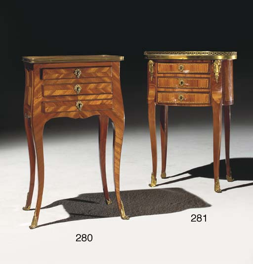 TABLE EN CHIFFONNIERE D'EPOQUE