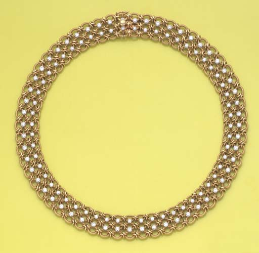 COLLIER DIAMANTS, PAR CARTIER