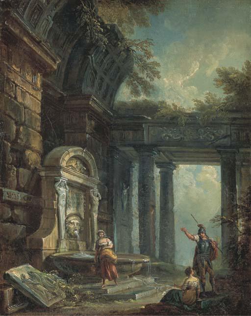 JEAN-BAPTISTE LALLEMAND (DIJON 1716-1803 PARIS)