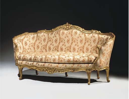 canape corbeille d 39 epoque louis xv estampille de jean baptiste tilliard christie 39 s. Black Bedroom Furniture Sets. Home Design Ideas