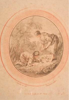 D'APRES JEAN-BAPTISTE HUET (17