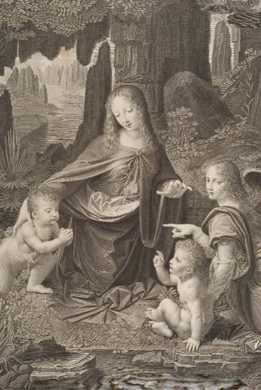 D'APRES LEONARD DE VINCI (1452