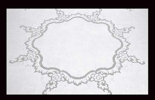 NAPPE CIRCULAIRE VERS 1900