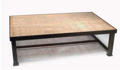 TABLE BASSE DE STYLE INDIEN