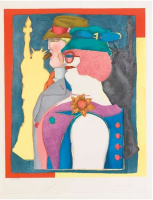 RICHARD LINDNER (1901-1978)