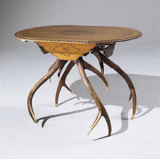 TABLE DU XIXEME SIECLE