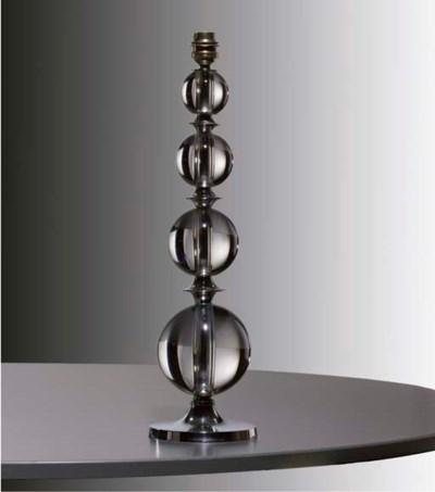 jacques adnet lampe de table vers 1930 christie 39 s. Black Bedroom Furniture Sets. Home Design Ideas