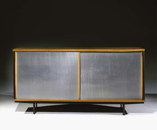 jean prouv bahut vers 1950 christie 39 s. Black Bedroom Furniture Sets. Home Design Ideas