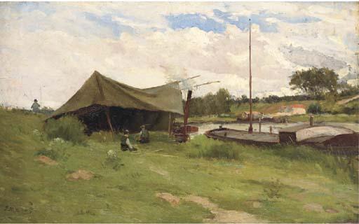 JEAN EUGENE JULIEN MASSE (1856-1950)