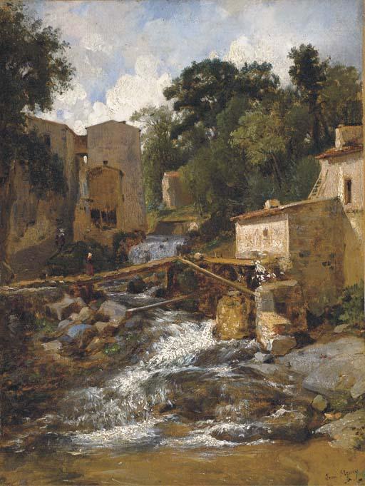 FRANCOIS ANTOINE LEON FLEURY (1804 - 1858)