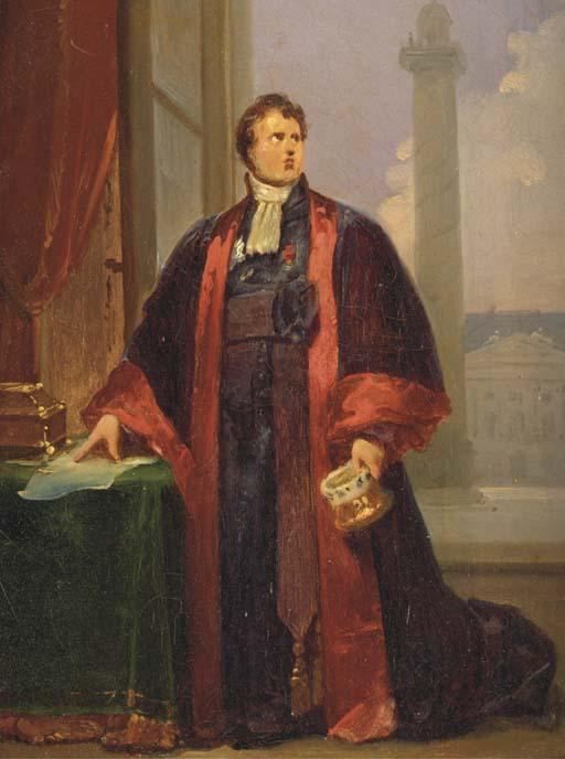 ENTOURAGE DE FRANCOIS PASCAL SIMON GERARD, DIT LE BARON GERARD (1770-1837)