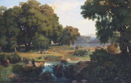 ATTRIBUE A JEAN ACHILLE BENOUVILLE (1815-1891)
