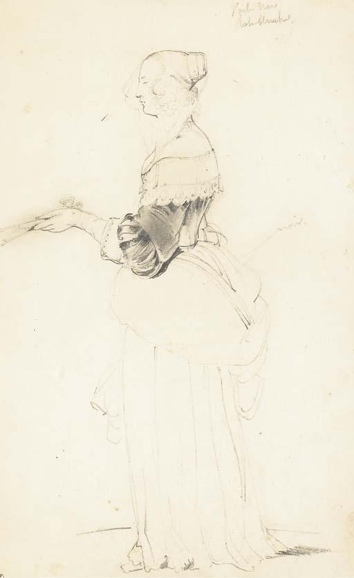 Attribué à Ferdinand-Victor-Eugène Delacroix (1798-1863)