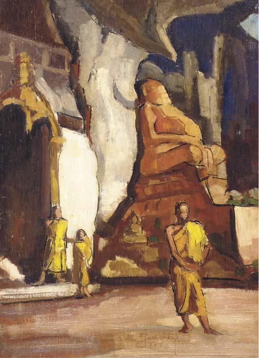 EVARISTE JONCHERE (COULANGES 1892-1956 PARIS)