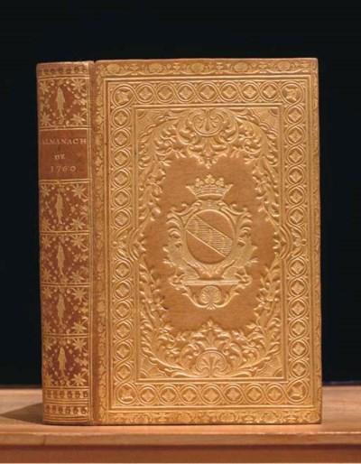 Almanach royal, année  bissext