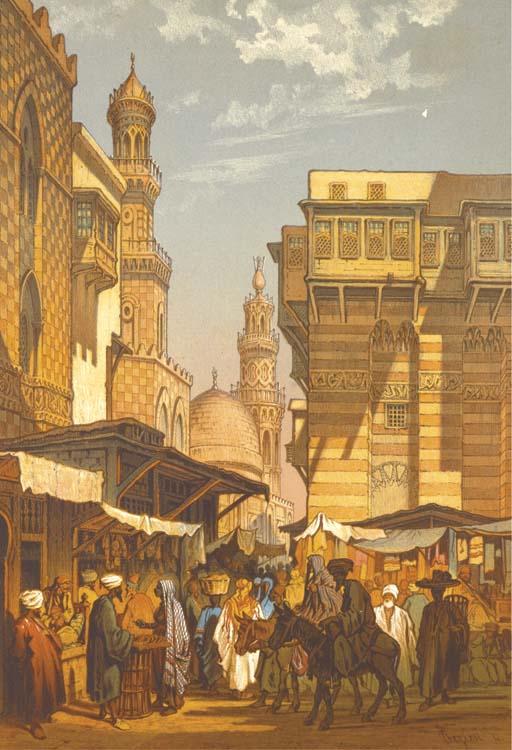 PREZIOSI, Amadeo (1816-1882). Souvenir du Caire. Paris: Lemercier, [1862].