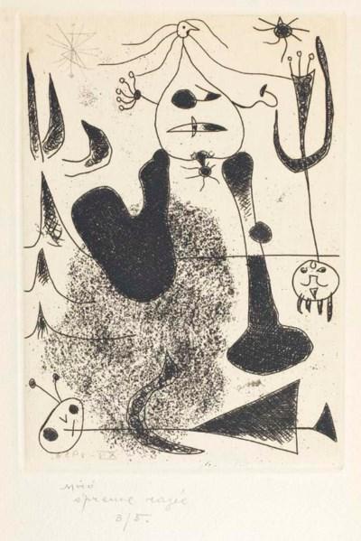 [MIRÓ] -- PAALEN, Alice (1916-