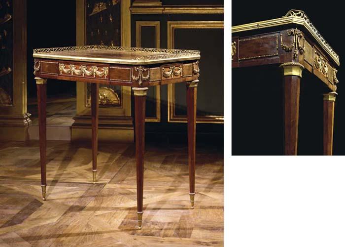 TABLE A ECRIRE D'EPOQUE LOUIS