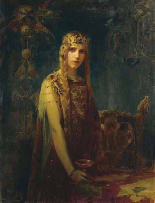 GASTON BUSSIERE (1862-1929)