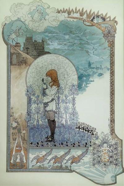 CARLOS SCHWABE (1866-1926)