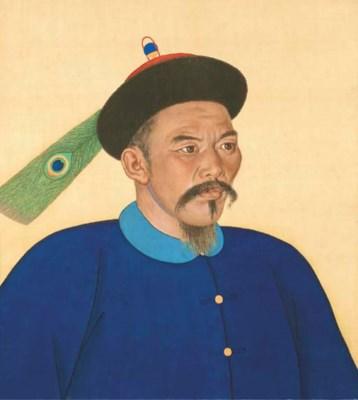 PORTRAIT D'UN GENERAL MONGOL,