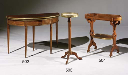TABLE TRAVAILLEUSE DE STYLE LO