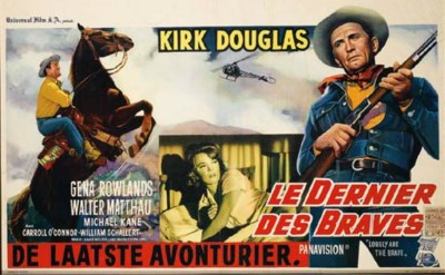 LE DERNIER DES BRAVES, 1962