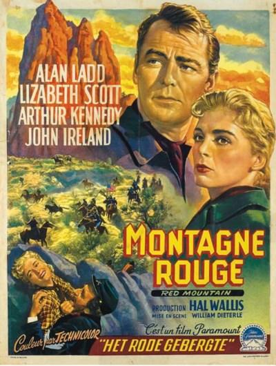 MONTAGNE ROUGE, 1951