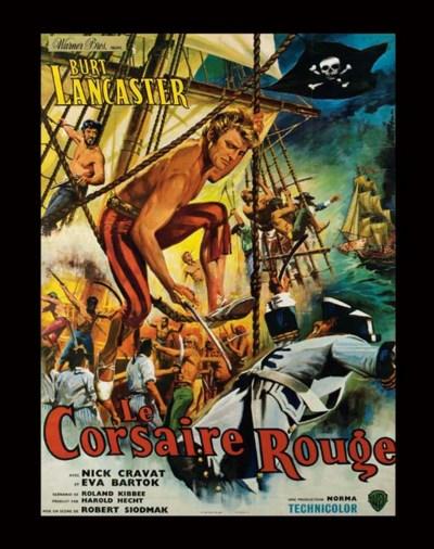 LE CORSAIRE ROUGE, 1952