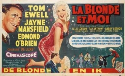 LA BLONDE ET MOI, 1956