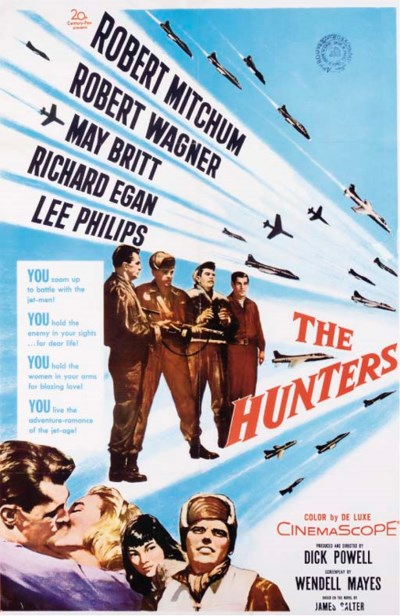 THE HUNTERS, 1958