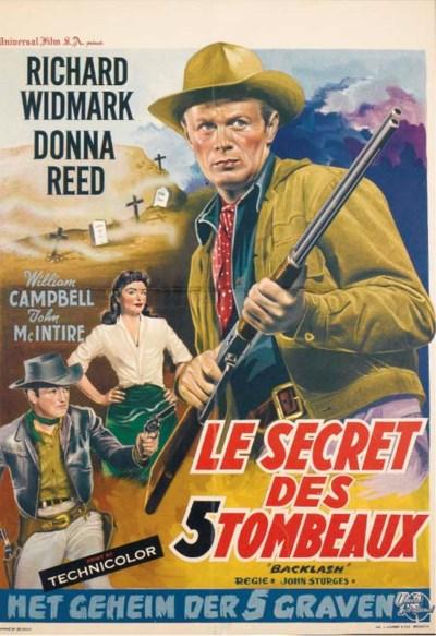 LE SECRET DES 5 TOMBEAUX, 1956