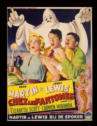 DEAN MARTIN & JERRY LEWIS CHEZ