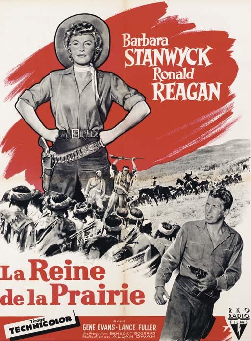LA REINE DE LA PRAIRIE, 1955