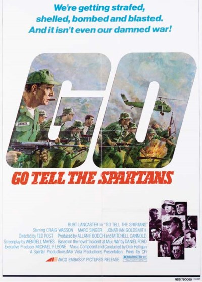 GO TELL THE SPARTANS, 1978