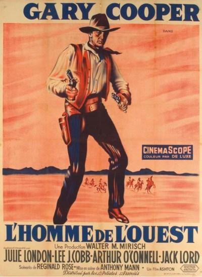 L'HOMME DE L'OUEST, 1958