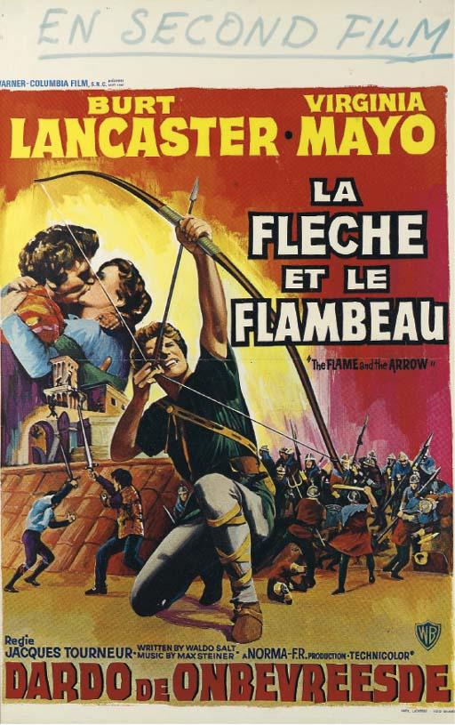 LA FLECHE ET LE FLAMBEAU, 1951