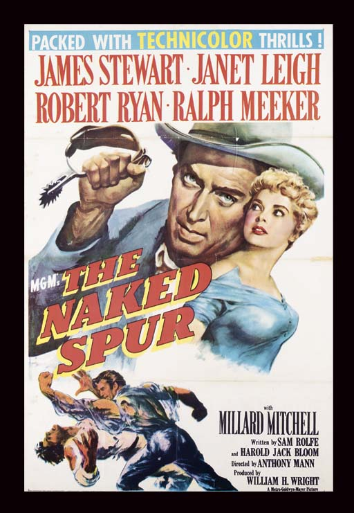 THE NAKED SPUR, 1952