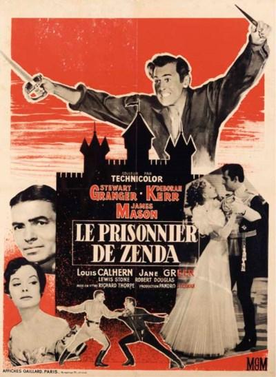 LE PRISONNIER DE ZENDA, 1952