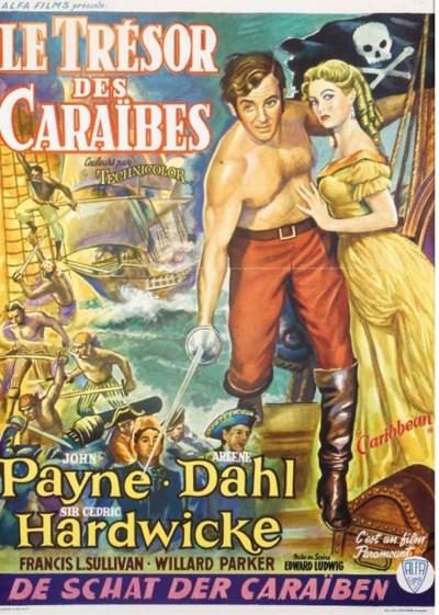 LE TRESOR DES CARAIBES, 1952