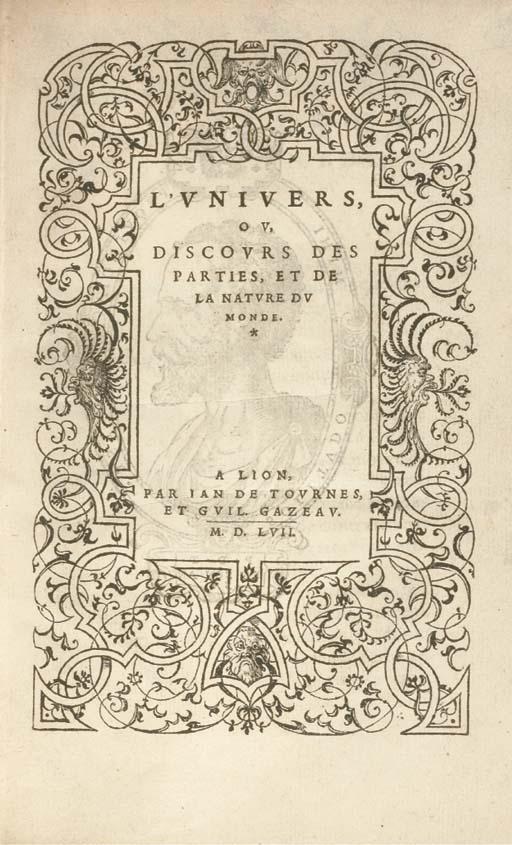 [TYARD, Pontus de (1521-1605)]