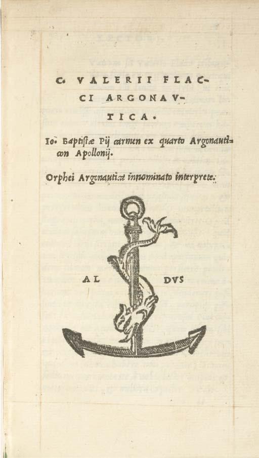 VALERIUS FLACCUS, Caius. Argon