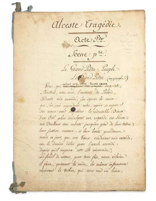 DORAT, Claude-Joseph (1734-178