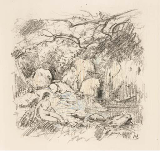 [BAUDIER] -- VERHAEREN, Emile (1855-1916). Les blés mouvants. Gravures à l'eau-forte de Paul Baudier. Paris: chez l'artiste, 20 mai 1944.