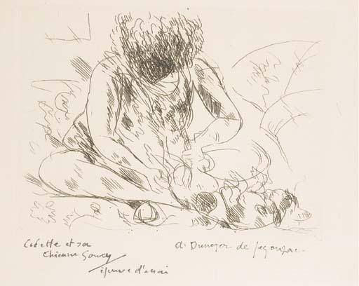 [DUNOYER DE SEGONZAC] -- COLETTE, Sidonie Gabrielle Colette, dite (1873-1954). La Treille Muscate. Eaux-fortes par André Dunoyer de Segonzac. Paris: Aimé Jourde, 15 avril 1932.