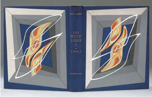 [VILLON] -- VALÉRY, Paul (1871-1945). Les Bucoliques de Virgile. Lithographies originales en couleurs de Jacques Villon. Paris: Scripta & Picta, 1953.