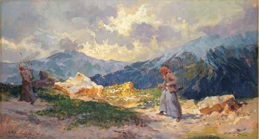 Cesare Gheduzzi (Italia 1894-1