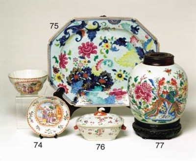 A CHINESE WUCAI PORCELAIN GING